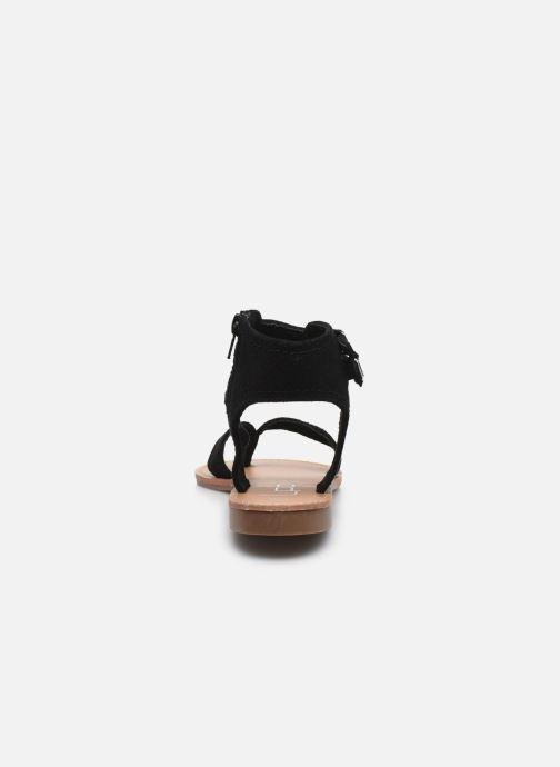 Sandales et nu-pieds LPB -LES PETITES BOMBES VALENTINE Noir vue droite