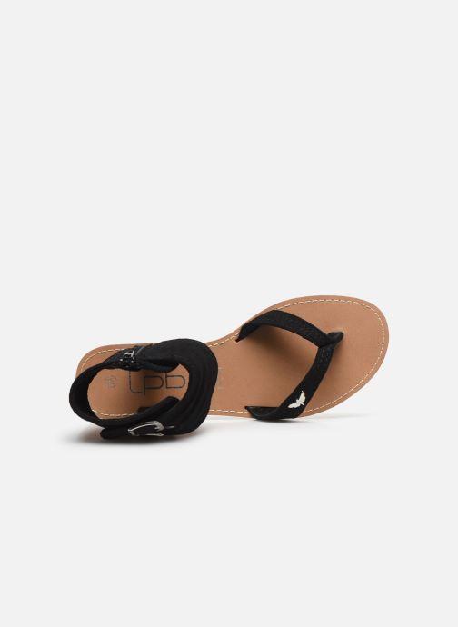 Sandales et nu-pieds LPB -LES PETITES BOMBES VALENTINE Noir vue gauche