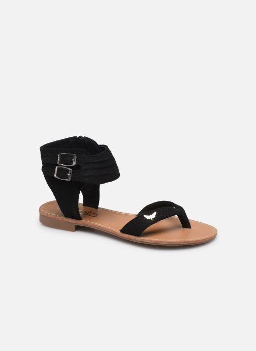Sandales et nu-pieds LPB -LES PETITES BOMBES VALENTINE Noir vue détail/paire