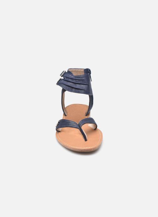 Sandali e scarpe aperte LPB -LES PETITES BOMBES VALENTINE Azzurro modello indossato