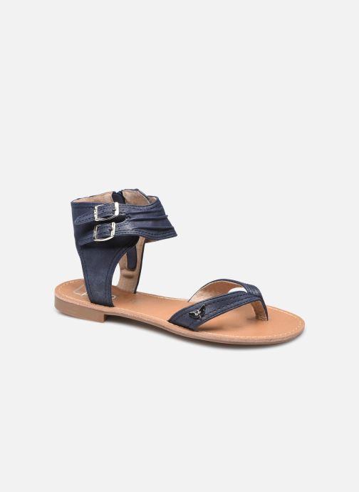 Sandales et nu-pieds LPB -LES PETITES BOMBES VALENTINE Bleu vue détail/paire