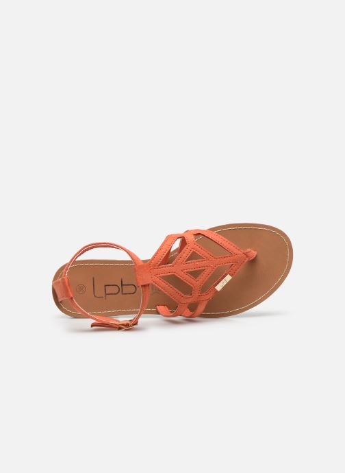 Sandales et nu-pieds LPB -LES PETITES BOMBES VANESSA Orange vue gauche