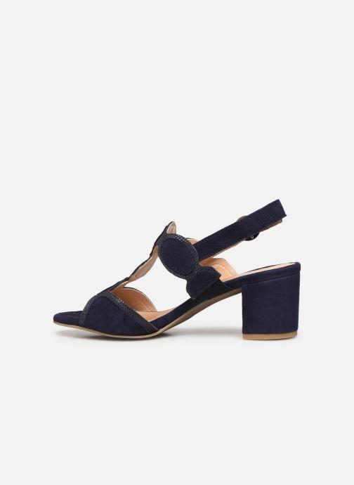 Sandales et nu-pieds Georgia Rose Soft Ritona Bleu vue face