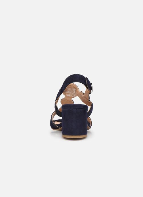 Sandales et nu-pieds Georgia Rose Soft Ritona Bleu vue droite
