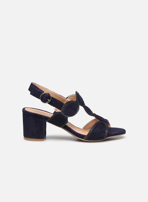 Sandales et nu-pieds Georgia Rose Soft Ritona Bleu vue derrière