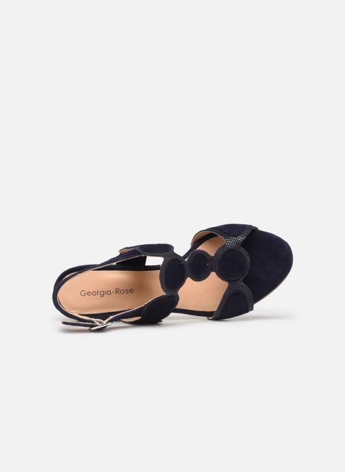 Sandales et nu-pieds Georgia Rose Soft Ritona Bleu vue gauche