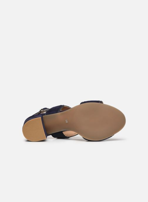 Sandales et nu-pieds Georgia Rose Soft Ritona Bleu vue haut