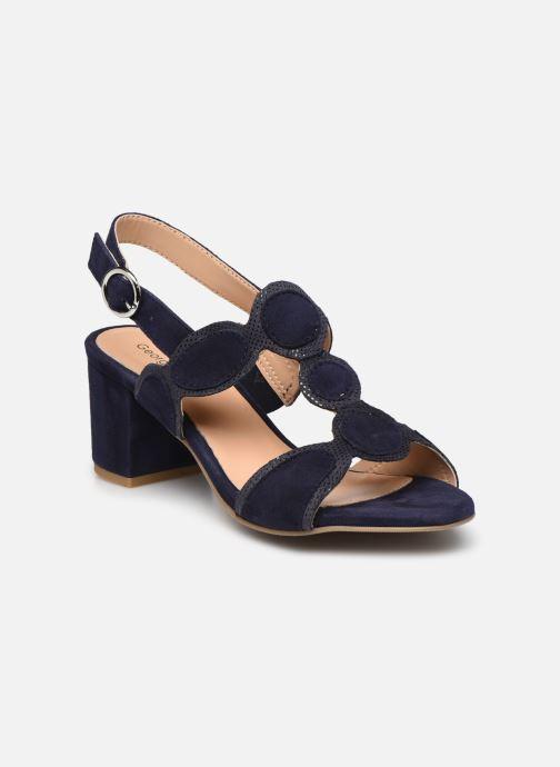 Sandales et nu-pieds Georgia Rose Soft Ritona Bleu vue détail/paire