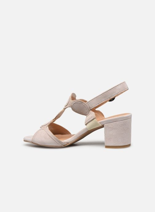 Sandales et nu-pieds Georgia Rose Soft Ritona Beige vue face