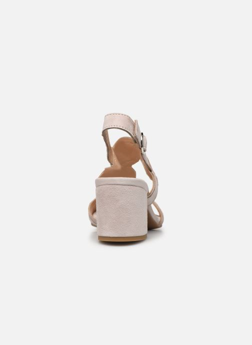 Sandales et nu-pieds Georgia Rose Soft Ritona Beige vue droite