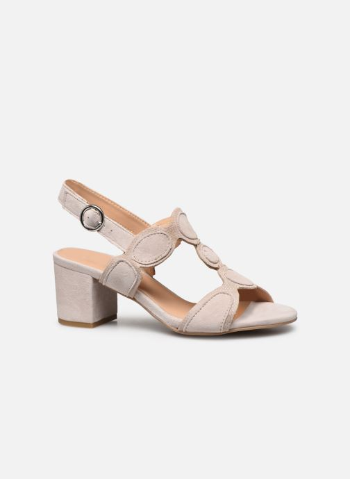 Sandales et nu-pieds Georgia Rose Soft Ritona Beige vue derrière