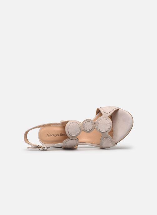 Sandales et nu-pieds Georgia Rose Soft Ritona Beige vue gauche