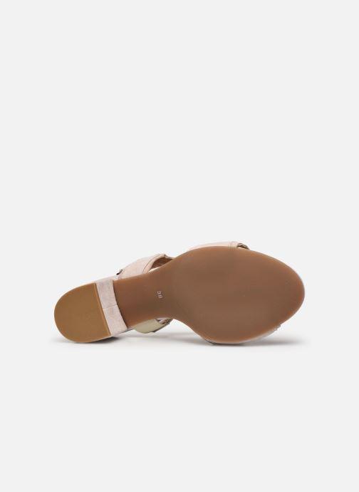 Sandales et nu-pieds Georgia Rose Soft Ritona Beige vue haut