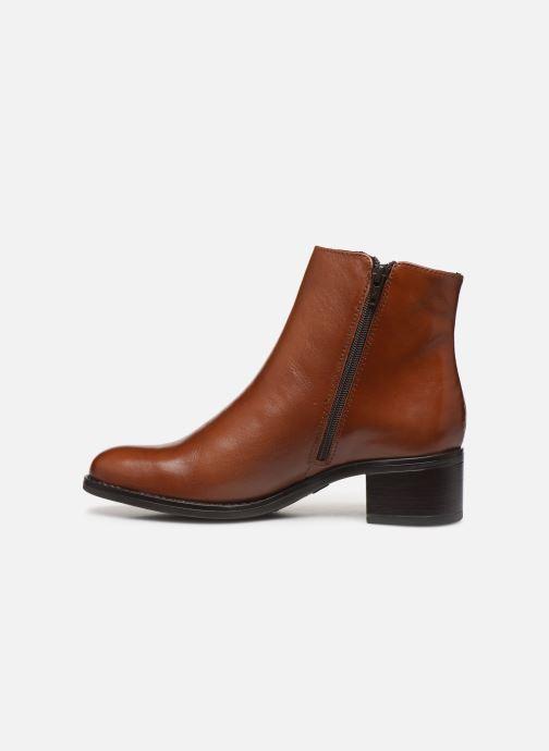 Bottines et boots Georgia Rose Soft Rikika Marron vue face