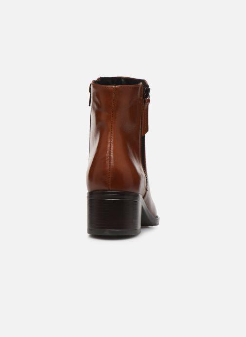 Bottines et boots Georgia Rose Soft Rikika Marron vue droite