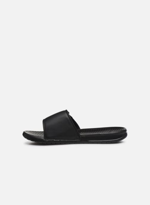 Sandales et nu-pieds Quiksilver Bright Coast Ad M Noir vue face