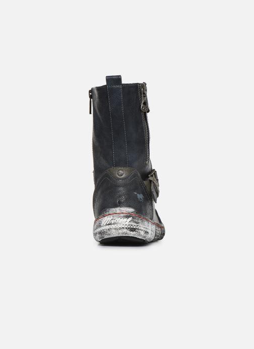 Stiefel Mustang shoes 1110-611 blau ansicht von rechts