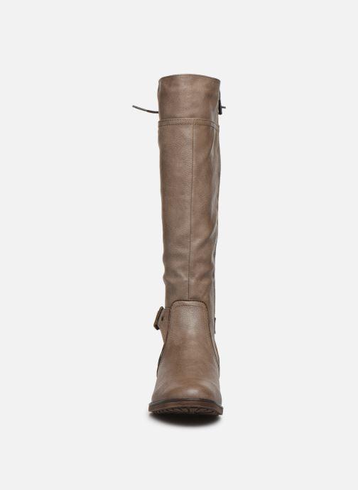 Stiefel Mustang shoes 1265510 braun schuhe getragen