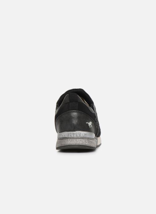 Baskets Mustang shoes 1289402 Noir vue droite