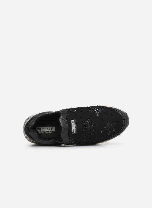 Baskets Mustang shoes 1289402 Noir vue gauche