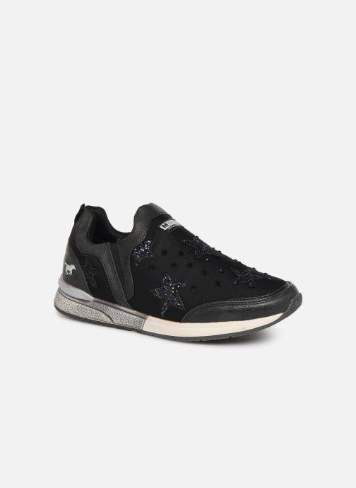 Baskets Mustang shoes 1289402 Noir vue détail/paire