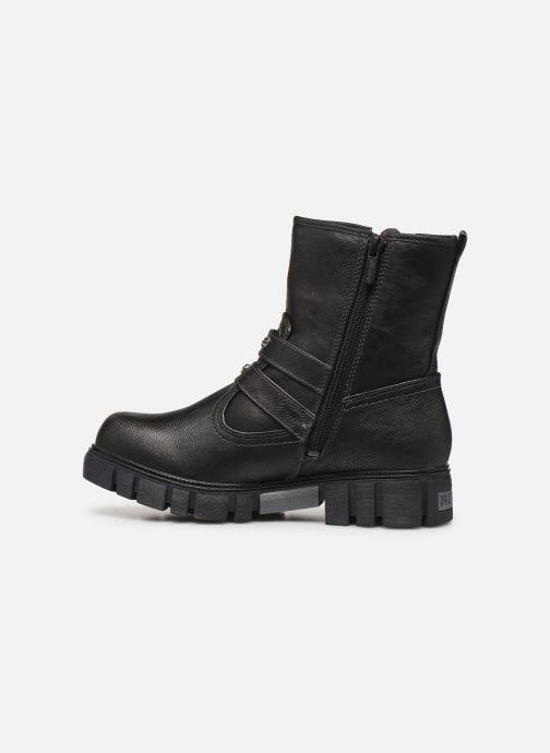 Bottines et boots Mustang shoes 1291602 Noir vue face