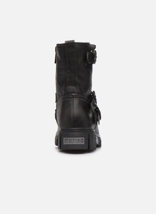 Bottines et boots Mustang shoes 1291602 Noir vue droite