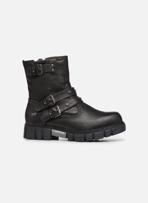 Bottines et boots Mustang shoes 1291602 Noir vue derrière