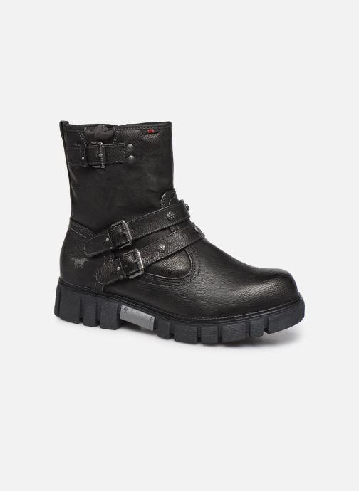 Bottines et boots Mustang shoes 1291602 Noir vue détail/paire