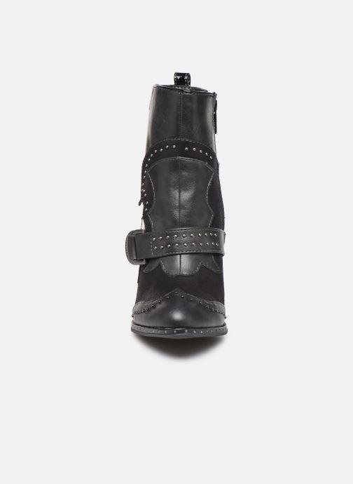 Bottines et boots Mustang shoes Salma1 Gris vue portées chaussures