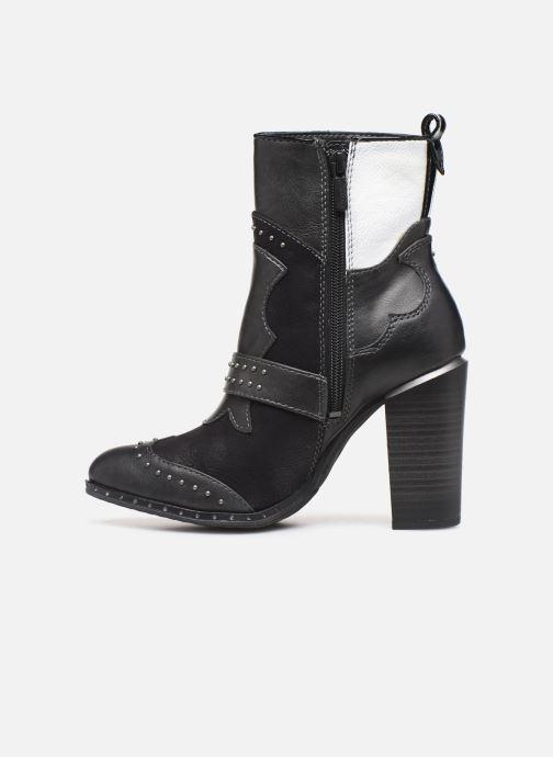 Bottines et boots Mustang shoes Salma1 Gris vue face