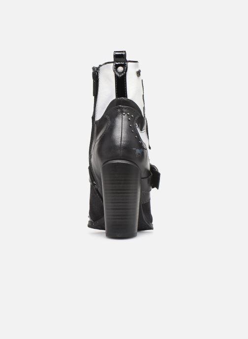 Bottines et boots Mustang shoes Salma1 Gris vue droite