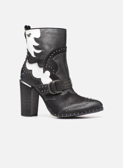 Bottines et boots Mustang shoes Salma1 Gris vue derrière