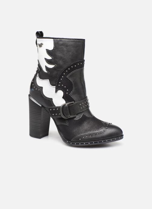 Bottines et boots Mustang shoes Salma1 Gris vue détail/paire