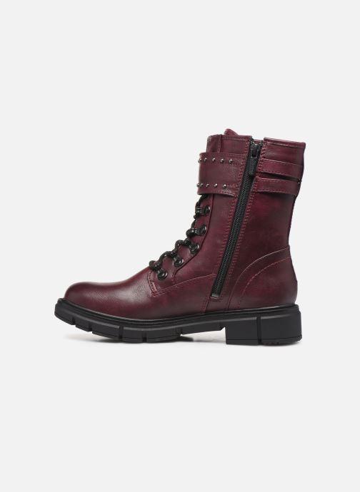 Bottines et boots Mustang shoes 1333501 Bordeaux vue face