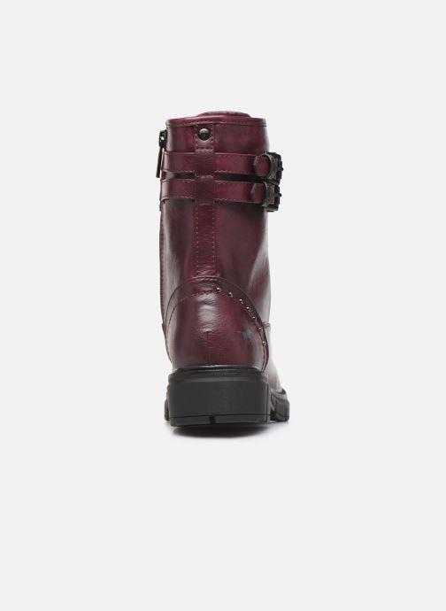 Bottines et boots Mustang shoes 1333501 Bordeaux vue droite