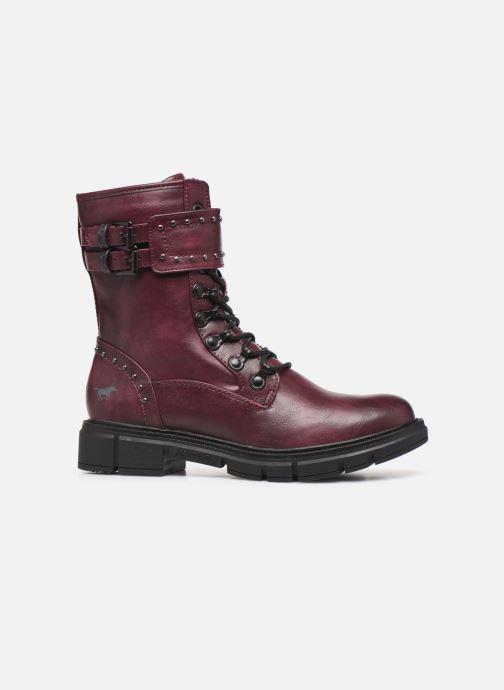 Bottines et boots Mustang shoes 1333501 Bordeaux vue derrière