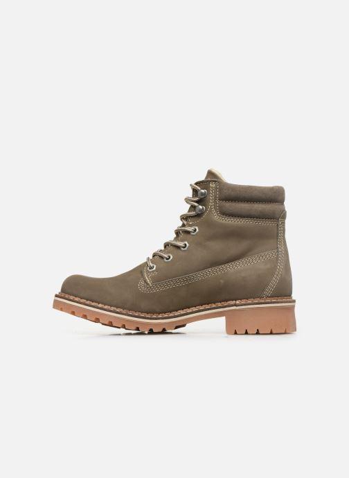 Bottines et boots Mustang shoes 2837604 Gris vue face