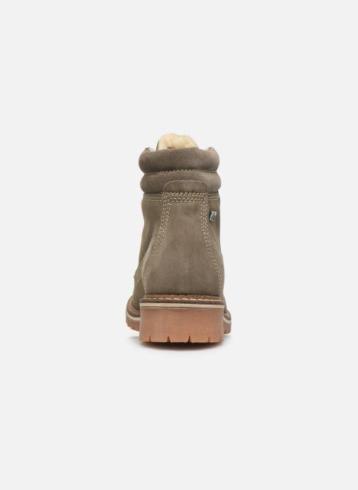 Bottines et boots Mustang shoes 2837604 Gris vue droite