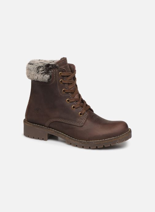 Ankle boots Mustang shoes 2837605 Brown detailed view/ Pair view