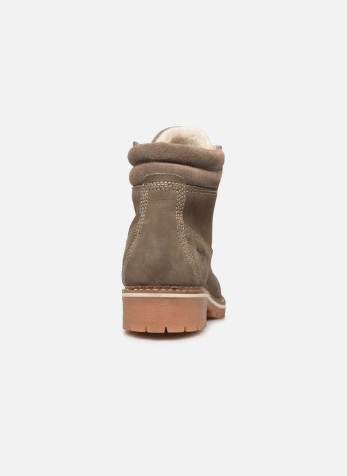 Boots en enkellaarsjes Mustang shoes 2837611 Grijs rechts