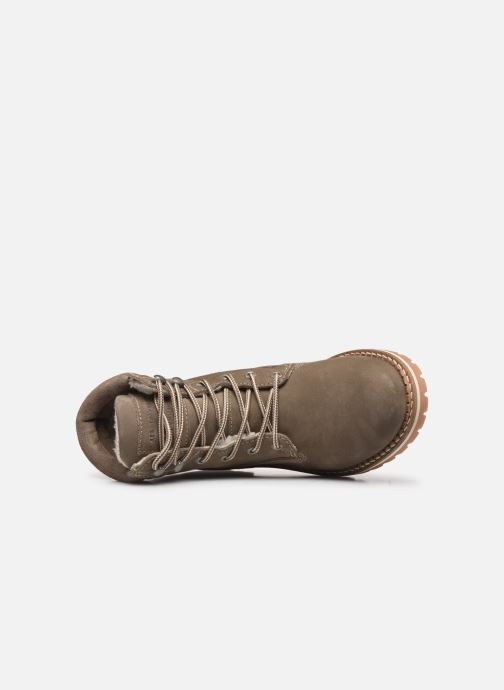 Boots en enkellaarsjes Mustang shoes 2837611 Grijs links