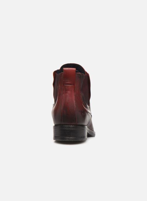 Bottines et boots Mustang shoes Portia1 Bordeaux vue droite