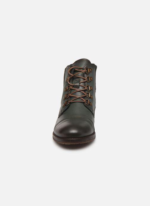 Bottines et boots Mustang shoes Portia1 Vert vue portées chaussures