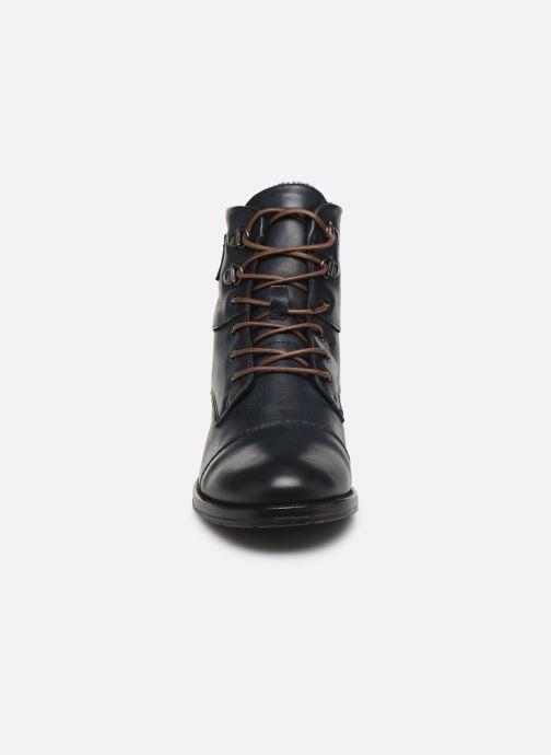 Bottines et boots Mustang shoes 2872504 Bleu vue portées chaussures
