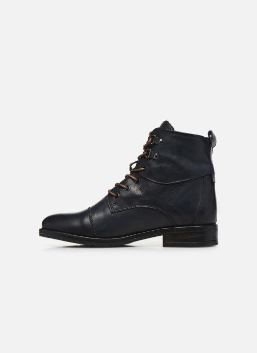 Bottines et boots Mustang shoes 2872504 Bleu vue face
