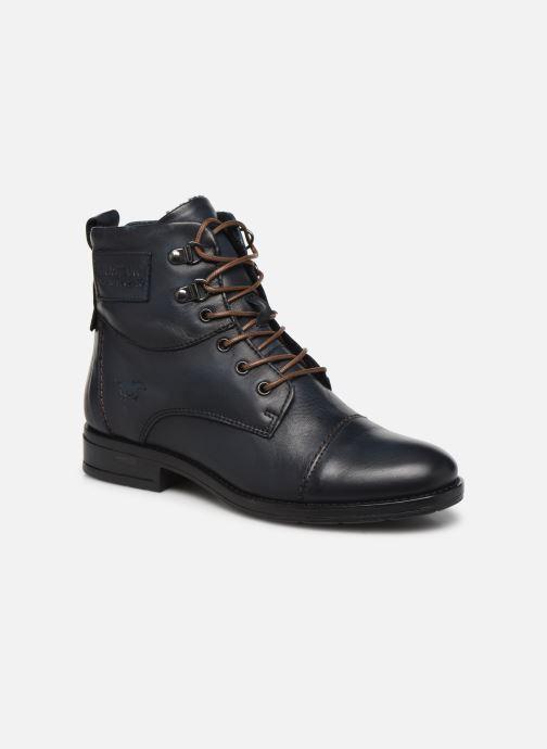 Bottines et boots Mustang shoes 2872504 Bleu vue détail/paire