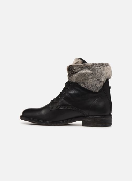 Ankle boots Mustang shoes Sofie1 Black front view