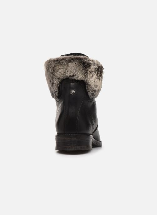 Ankle boots Mustang shoes Sofie1 Black view from the right