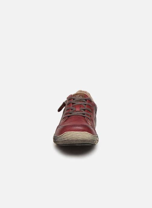 Baskets Mustang shoes 4128301 Bordeaux vue portées chaussures